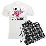 Fight Cancer Men's Light Pajamas