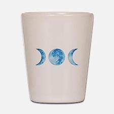 Three Phase Moon Shot Glass