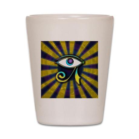 Eye of Osiris Shot Glass