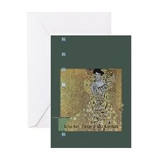 Klimt's Adele Bloch-Bauer Art Greeting Card