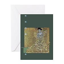 Klimt's Adele Bloch-Bauer Art Greeting Card