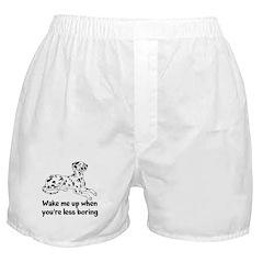 Wake Me Up Boxer Shorts