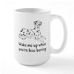 Wake Me Up Large Mug