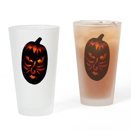 Jack-o-Lantern Drinking Glass
