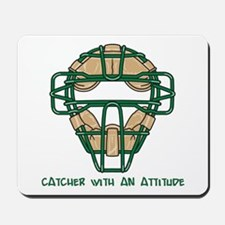 Catcher with an Attitude Mousepad