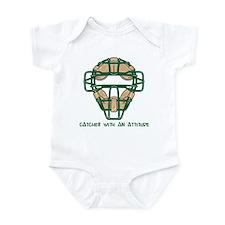 Catcher with an Attitude Infant Bodysuit