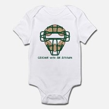 Catcher with an Attitude Infant Bodysuit