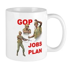 GOP Jobs Plan Mug
