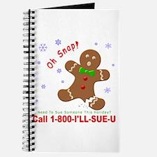 1-800-I'LL-SUE-U Journal