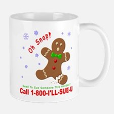 1-800-I'LL-SUE-U Mug