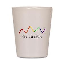 Riyah-Li Designs Not Straight Shot Glass