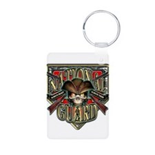 US Army National Guard Shield Keychains