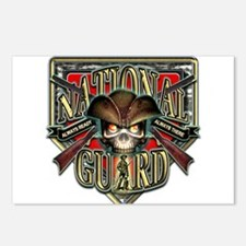 US Army National Guard Shield Postcards (Package o