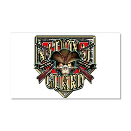 US Army National Guard Shield Car Magnet 20 x 12