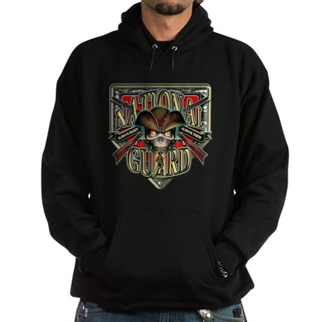US Army National Guard Shield Hoodie (dark)