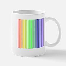 Rainbow Barcode Mug