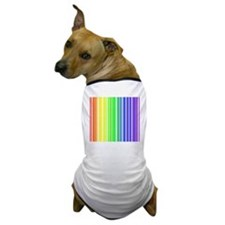 Rainbow Barcode Dog T-Shirt