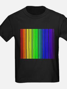 Rainbow Barcode T