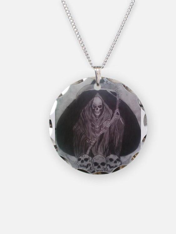Cute Grim reaper Necklace