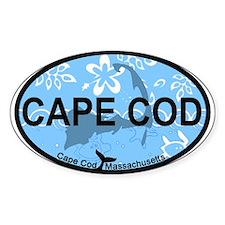 Cape Cod MA - Oval Design Decal