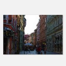 Cute Bratislava Postcards (Package of 8)