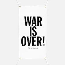 War Is Over! Banner