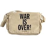 War Is Over! Messenger Bag