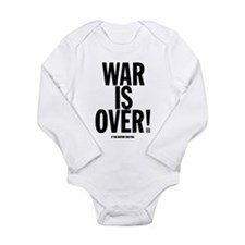 War Is Over! Long Sleeve Infant Bodysuit