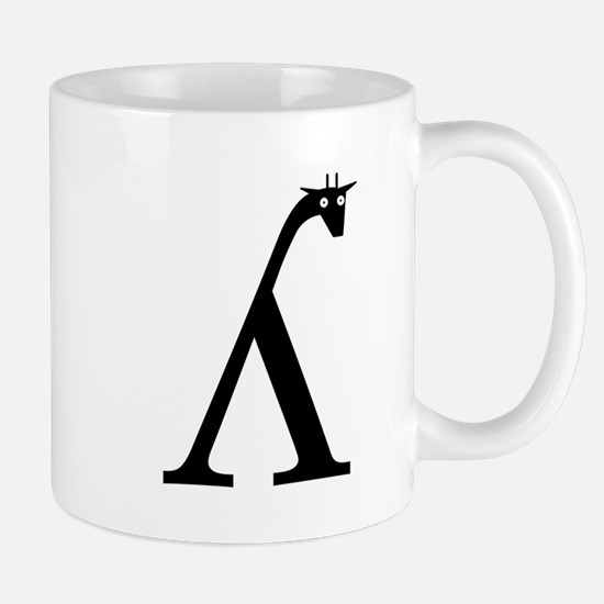 Palatal Lateral Approximant Giraffe Mug