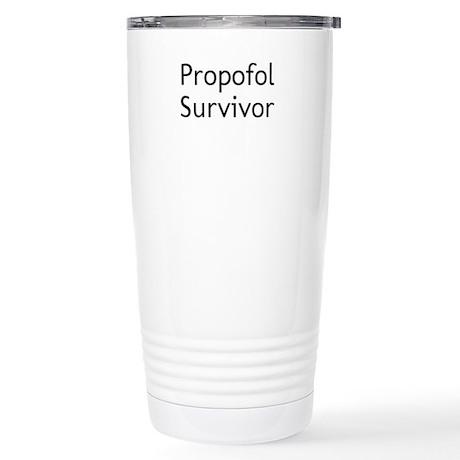 Propofol Survivor Stainless Steel Travel Mug
