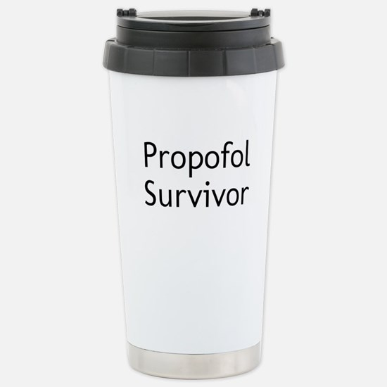 Propofol Survivor Stainless Steel Travel Mug