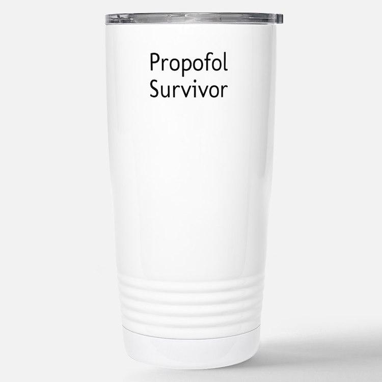 Propofol Survivor Travel Mug