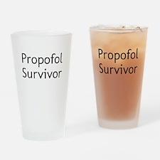 Propofol Survivor Drinking Glass