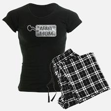 Army Mom Silver Dog Tag 3D Pajamas