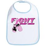 Fight Breast Cancer Pink Boxi Bib