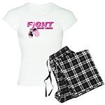 Fight Breast Cancer Pink Boxi Women's Light Pajama
