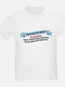 Round Sum Adjustments T-Shirt