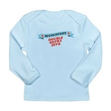 Double Entry Diva Long Sleeve Infant T-Shirt