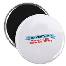 Accountant Mess Sorted Magnet