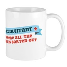 Accountant Mess Sorted Mug
