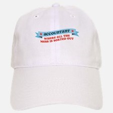 Accountant Mess Sorted Baseball Baseball Cap