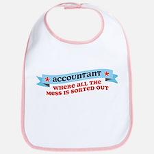 Accountant Mess Sorted Bib