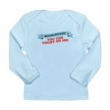 Count on Me Long Sleeve Infant T-Shirt