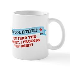 Accountant Credit Debit Mug