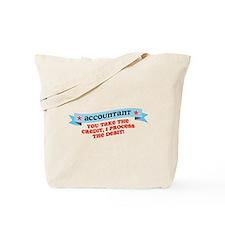Accountant Credit Debit Tote Bag