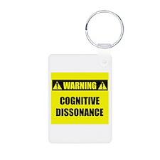 WARNING: Cognitive Dissonance Keychains