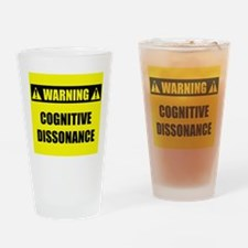 WARNING: Cognitive Dissonance Drinking Glass