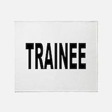 Trainee Throw Blanket