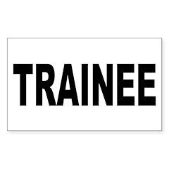 Trainee Decal