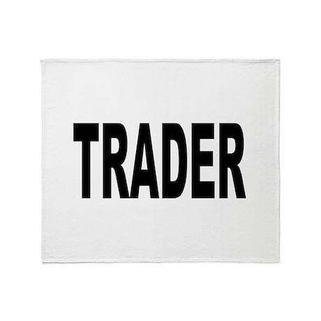 Trader Throw Blanket